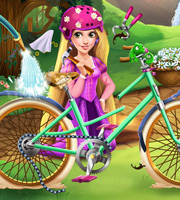 Girls Fix it: Rapunzel's Bicycle