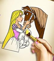 Goldie Princess Coloring Book