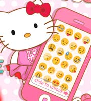 Hello Kitty's Pink iPhone
