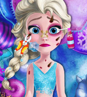 Injured Elsa Frozen