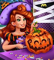 Jessie's Halloween Pumpkin Carving