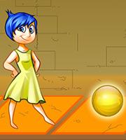 Joy Collects Yellow Balls