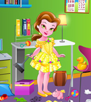 Little Princess Belle Room Cleaning