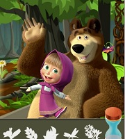 Masha and the Bear Forest Adventure