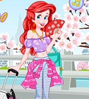 Mermaid Princess Flies to Tokyo