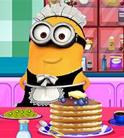 Minion Cooking Pancakes