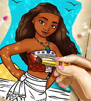Moana Coloring Book