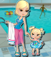 Mother Daughter Waterpark