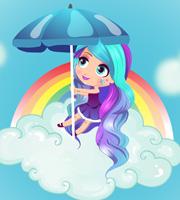 My Over The Rainbow Look