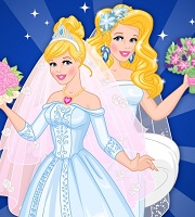 Now and then Cinderella Wedding Day