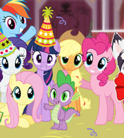 Party at Fynsy's Celebrating with Ponies