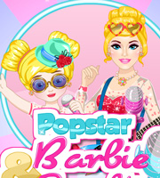 Popstar Barbie and Daughter