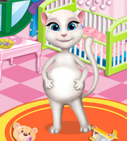 Pregnant angela baby room decor for Baby room decoration games online