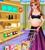 Pregnant Anna Baby Shopping