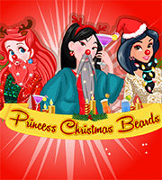 Princess Christmas Beards