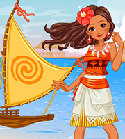 Princess Moana's Ship