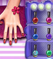 Princess Nail Makeover
