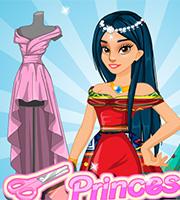 Princess Prom Dress Design