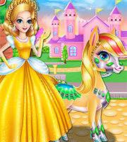 Princess Zaira And Pony 2