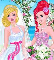 Princesses at Barbie's Wedding