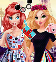 Princesses BFFs In Paris