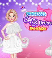 Princesses Crazy Dress Design