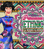 Princesses Ethnic Photoshoot