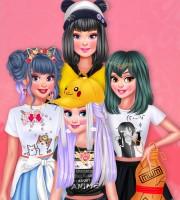 Princesses Otaku Style