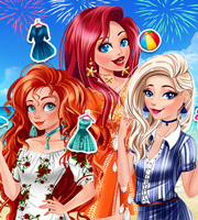 Princesses Summer Parties