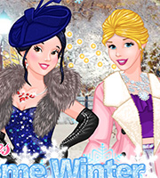 Princesses Welcome Winter Ball