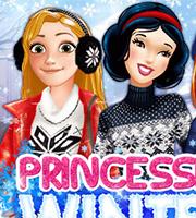 Princesses Winter Fun