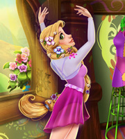Rapunzel Ballet Rehearsal