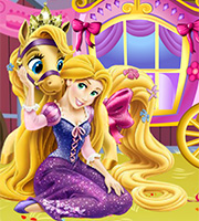 Rapunzel Carriage Repair And Decor