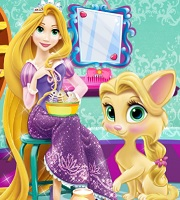 Rapunzel Cat Care 2