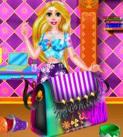 Rapunzel DIY Purse Decor