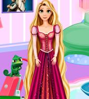 Rapunzel Hotel Room Decor