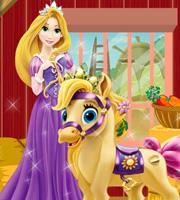 Rapunzel Pony Caring
