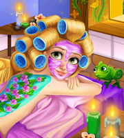 Rapunzel Spa Day 2