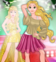 Rapunzel vs. Cinderella Model Rivals