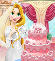 Rapunzel Wedding Cake