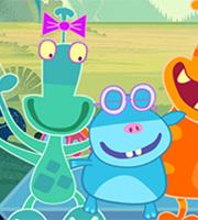 School of Monsters Coloring Book