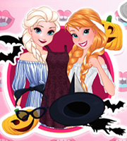 Sisters Halloween Night