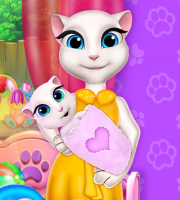 Talking Angela Baby Crib Decor