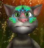 Talking Tom Face Art