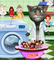 Talking Tom Washing Dolls