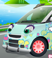 The Hello Kitty Car