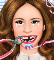Violetta at dentist