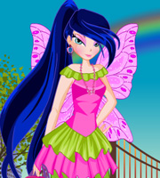 Winx Musa Outing Dressup